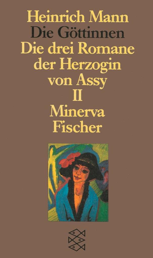 Die Göttinnen II. Minerva als Taschenbuch