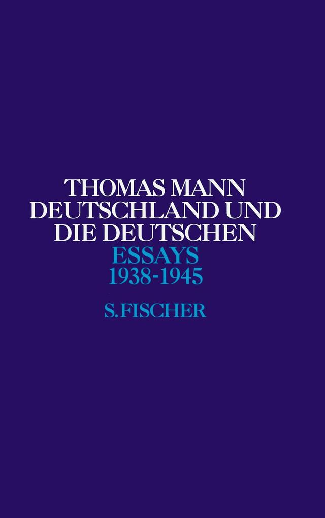 Deutschland und die Deutschen 1938 - 1945 als Buch