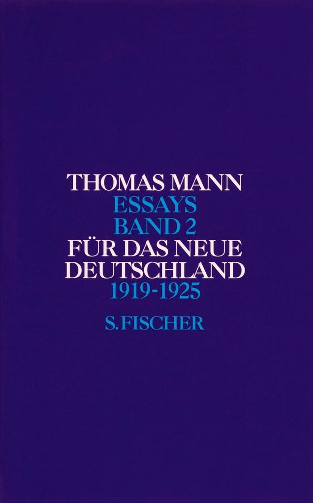 Für das neue Deutschland 1919 - 1925 als Buch