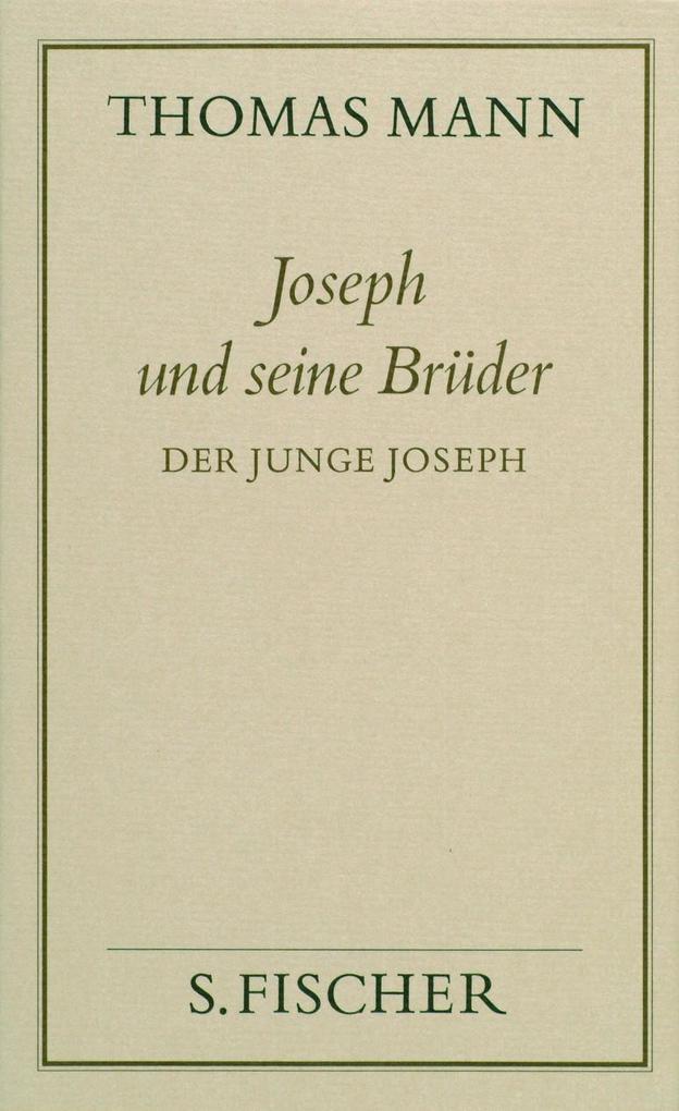 Joseph und seine Brüder II. Der junge Joseph ( Frankfurter Ausgabe) als Buch
