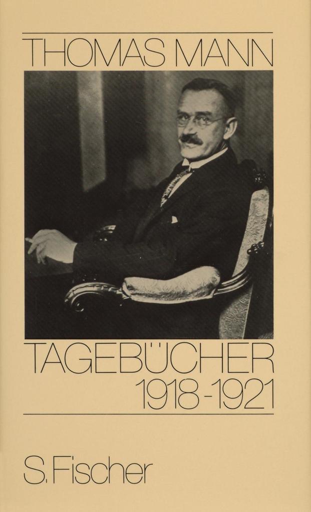 Tagebücher 1918 - 1921 als Buch