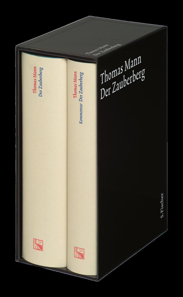 Der Zauberberg. Große kommentierte Frankfurter Ausgabe als Buch