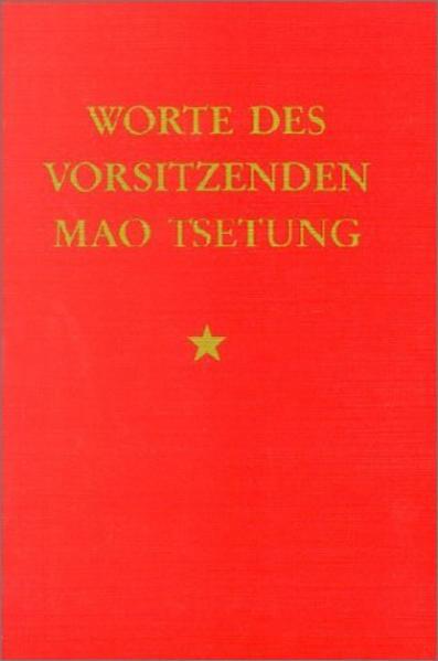 Worte des Vorsitzenden Mao Tsetung als Buch (kartoniert)