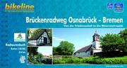 Bikeline Brückenradweg Osnabrück - Bremen 1 : 50 000