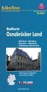 Bikeline Radkarte Deutschland Osnabrück und Umgebung 1 : 75 000