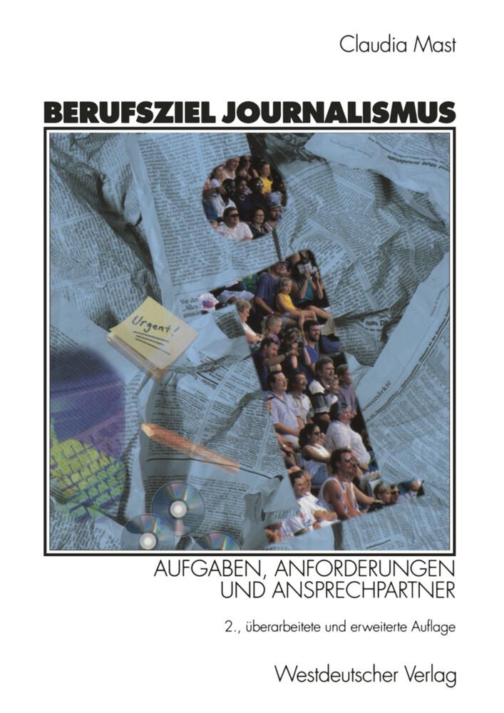 Berufsziel Journalismus als Buch