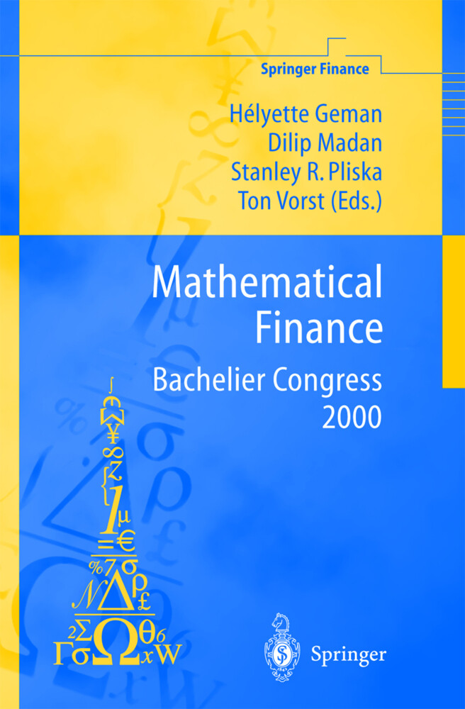 Mathematical Finance - Bachelier Congress 2000 als Buch