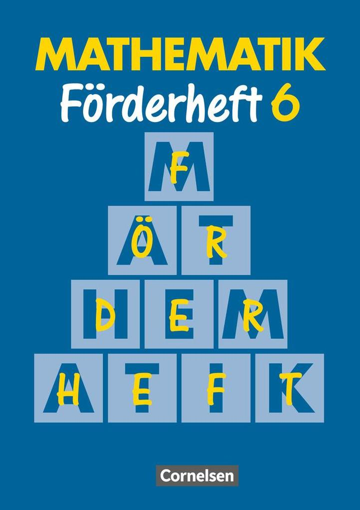 Mathematik für Sonderschulen Neu. Förderheft 6 als Buch