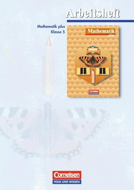 Mathematik plus 5. Arbeitsheft. Mecklenburg-Vorpommern, Sachsen. Euro-Ausgabe als Buch