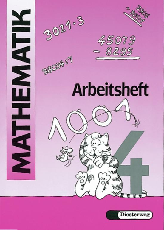 Mathematik-Übungen. Arbeitsheft 4 als Buch