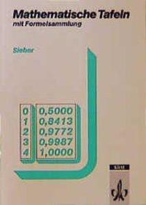 Mathematische Tafeln mit Formelsammlung als Buch