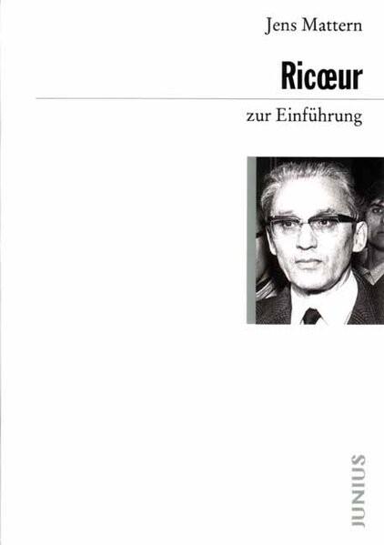 Paul Ricoeur zur Einführung als Buch