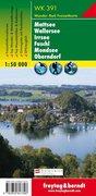 Mattsee, Wallersee, Irrsee, Fuschl, Mondsee, Oberndorf 1 : 50 000. WK 391