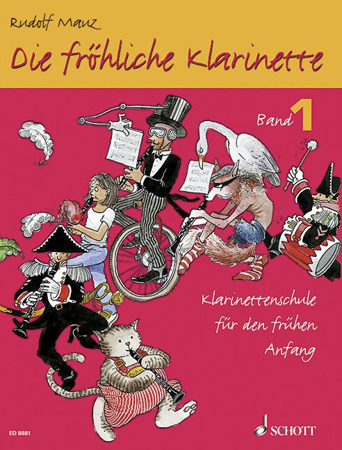 Die fröhliche Klarinette 1 als Buch