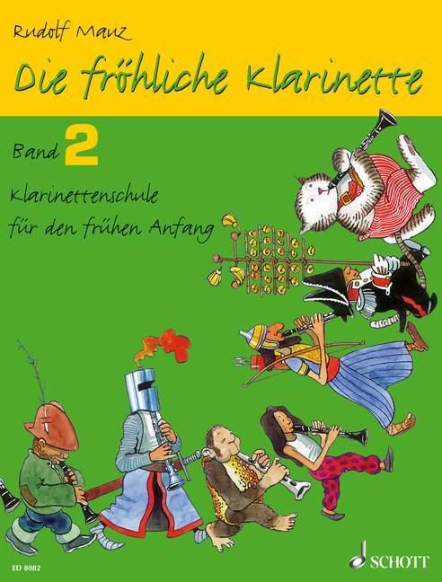 Die fröhliche Klarinette 02 als Buch