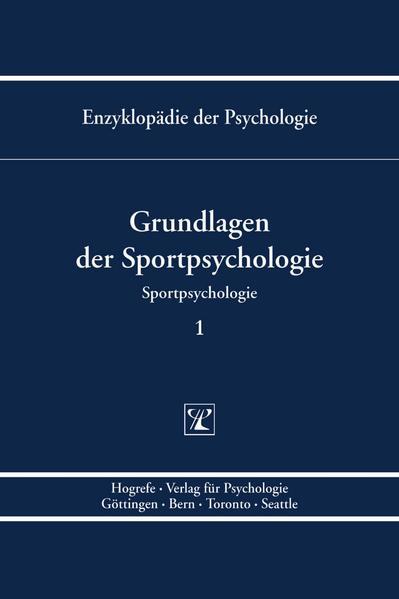 Grundlagen der Sportpsychologie 1 als Buch