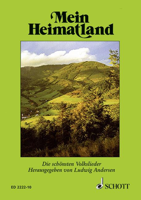 Mein Heimatland als Buch (kartoniert)