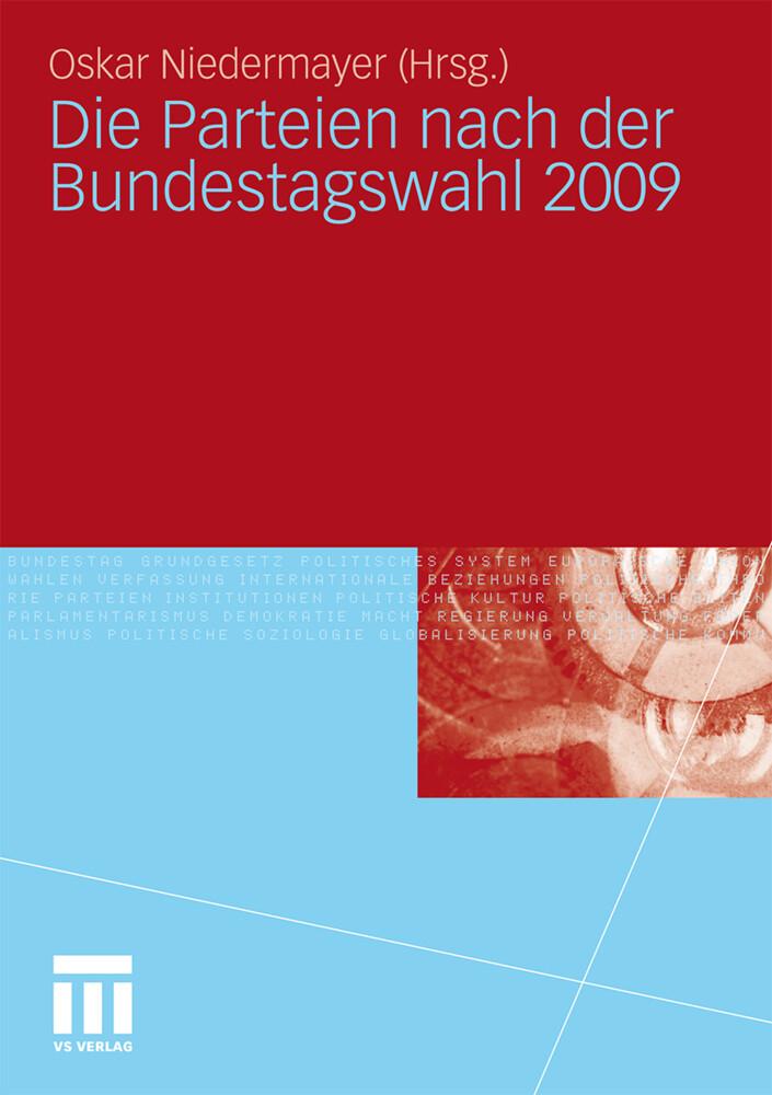 Die Parteien nach der Bundestagswahl 2009 als B...