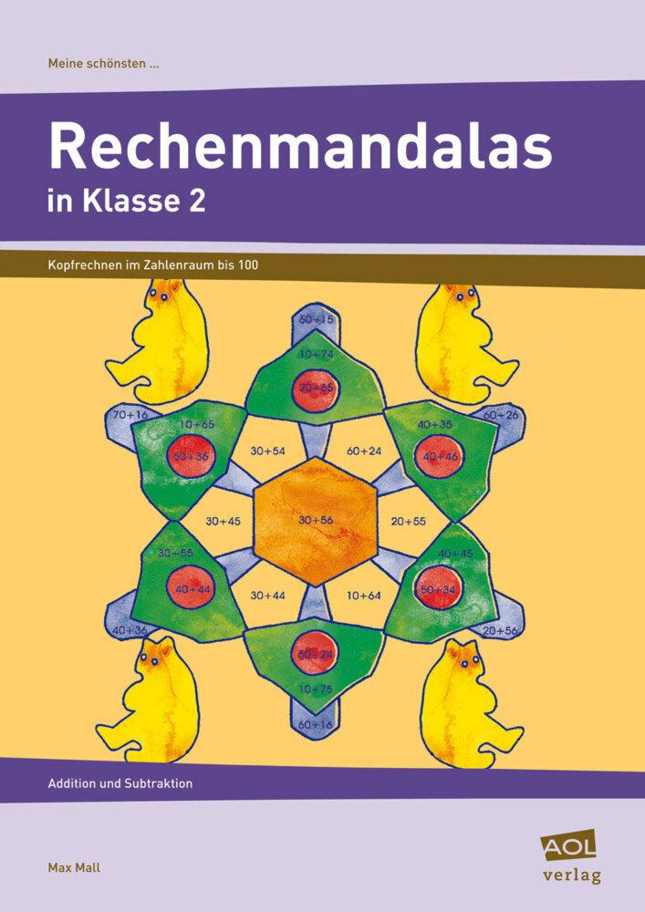 Meine schönsten Rechenmandalas in Klasse 2 als Buch