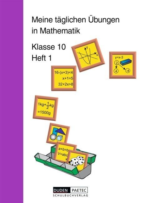 Meine täglichen Übungen in Mathematik Klasse 10 Heft 1 als Buch