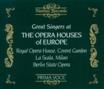 Great Singers At Opera Houses