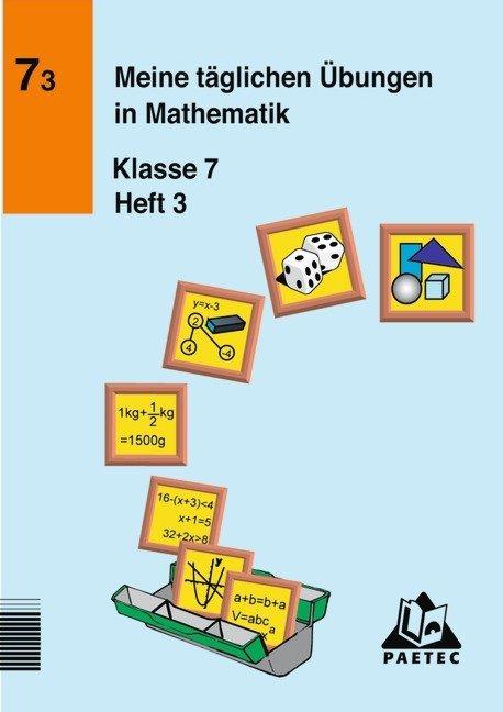 Meine täglichen Übungen in Mathematik Klasse 7 Heft 3 als Buch