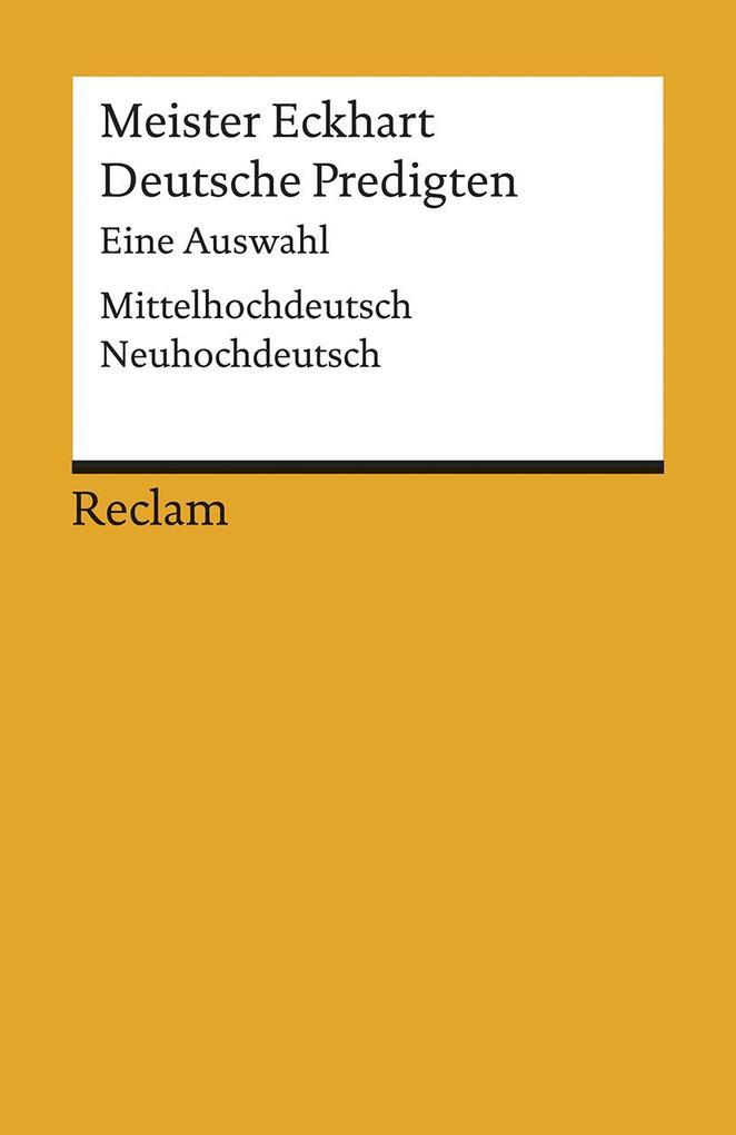 Deutsche Predigten als Taschenbuch