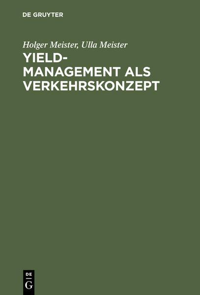 Yield-Management als Verkehrskonzept als Buch