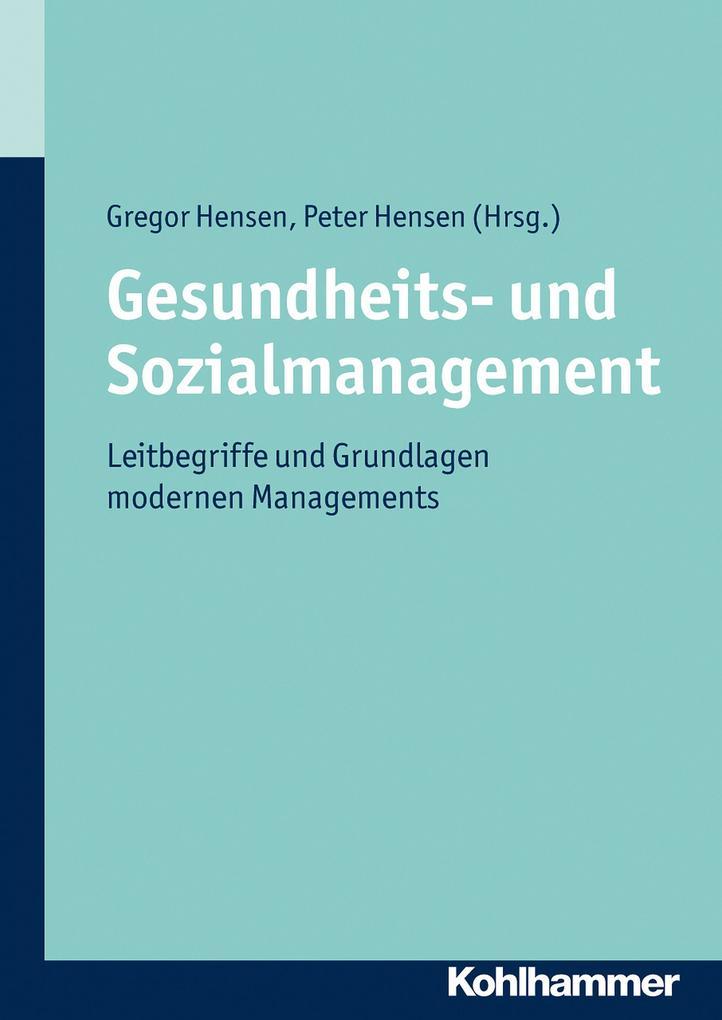 Gesundheits- und Sozialmanagement als Buch