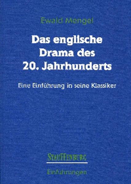 Das englische Drama des 20. Jahrhunderts. als Buch