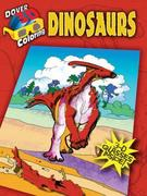 3-D Coloring Book--Dinosaurs [With 3-D Glasses]