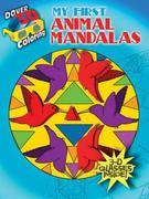 3-D Coloring Book -- My First Animal Mandalas [With 3-D Glasses]