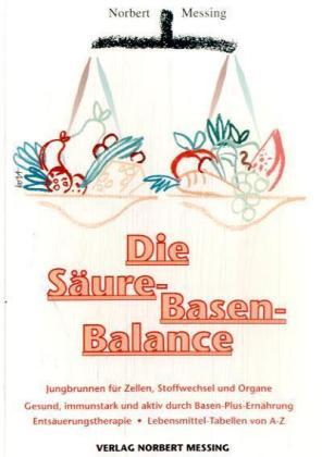 Die Säure-Basen Balance als Buch
