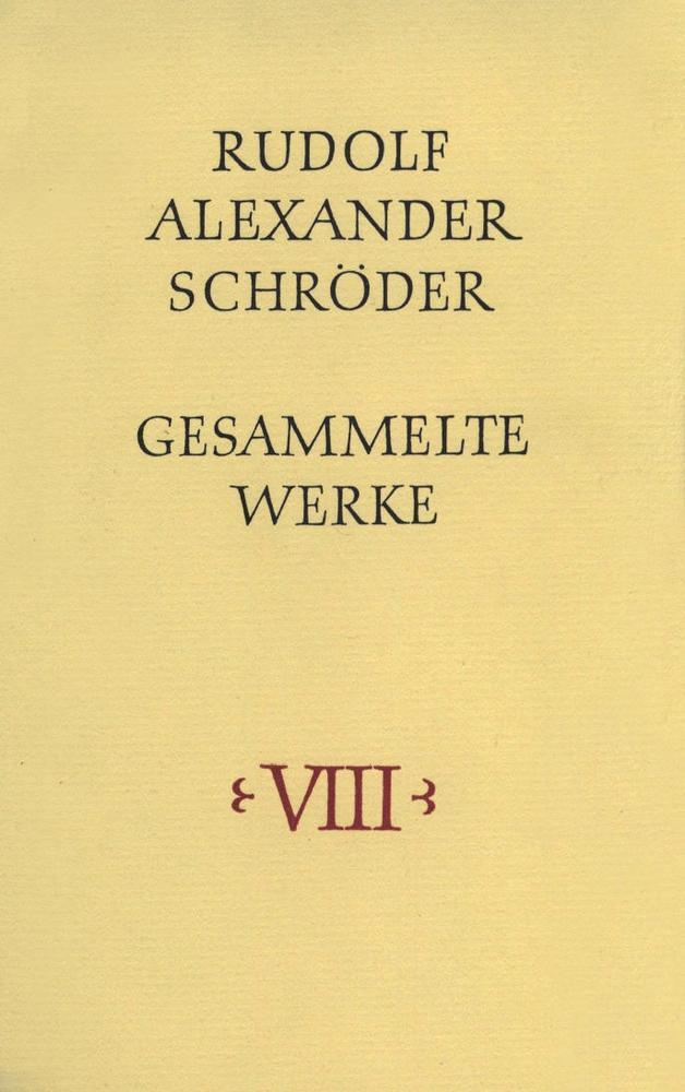 Gesammelte Werke. Dünndruckausgabe in acht Bänden als Buch