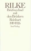 Briefwechsel mit den Brüdern Reinhart 1919 - 1926