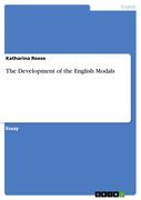 The Development of the English Modals