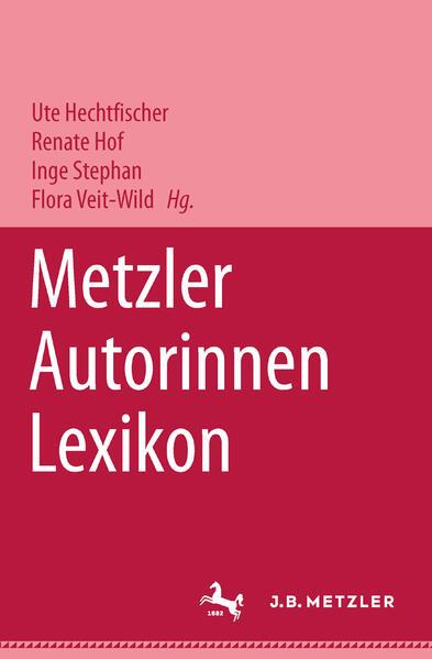 Metzler Autorinnen Lexikon als Buch