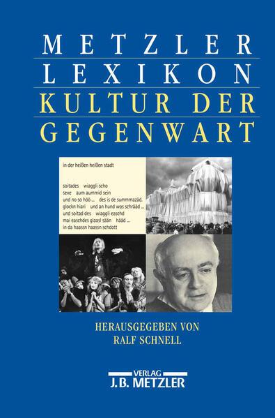 Metzler Lexikon Kultur der Gegenwart als Buch