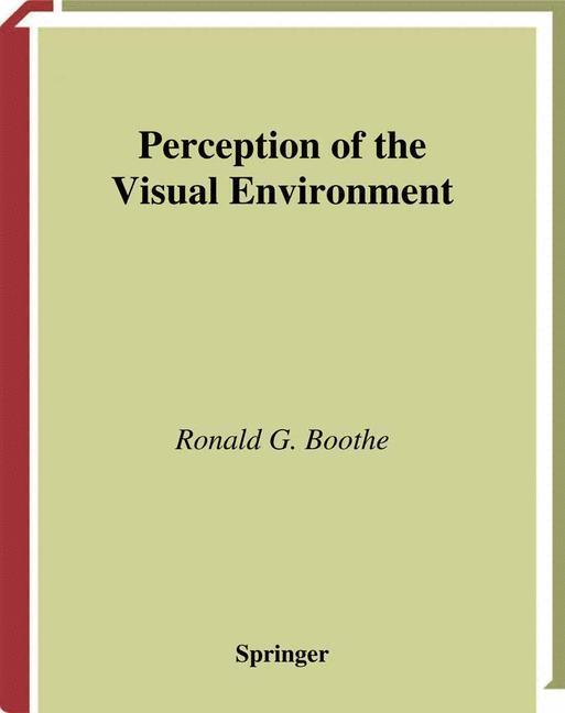 Perception of the Visual Environment als Buch v...