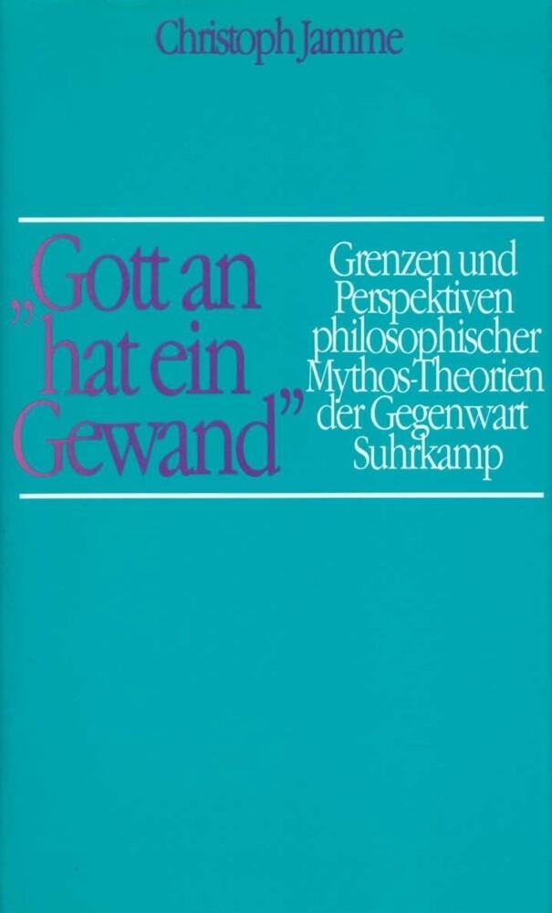 Gott an hat ein Gewand als Buch von Christoph J...