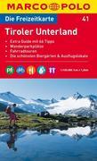 MARCO POLO Freizeitkarte 41 Tiroler Unterland 1 : 120 000