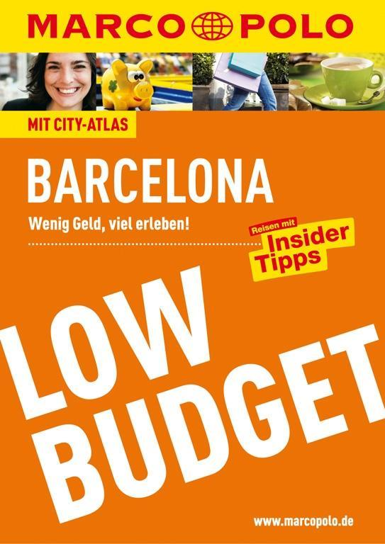 MARCO POLO Low Budget Barcelona als Buch von Do...
