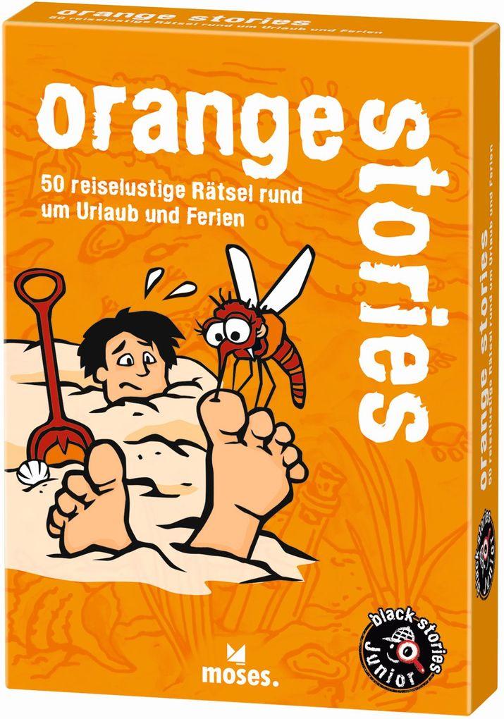 Image of black stories junior: orange stories