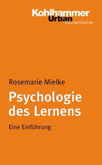 Psychologie des Lernens als Taschenbuch