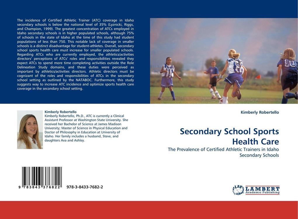 Secondary School Sports Health Care als Buch vo...