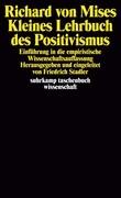 Kleines Lehrbuch des Positivismus