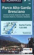 Parco Alto Garda - Bresciano 1 : 25 000