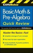 CliffsNotes Basic Math & Pre-Algebra Quick Review