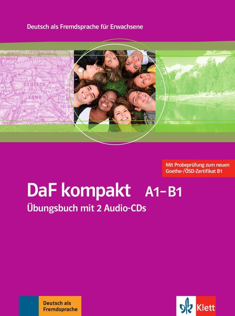 Daf Kompakt übungsbuch Mit 2 Audio Cds A1 B1 Buch