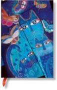 BLUE CATS BUTTERFLIES MINI JOURNAL